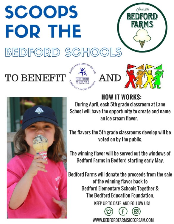 scoops for the bedford schools