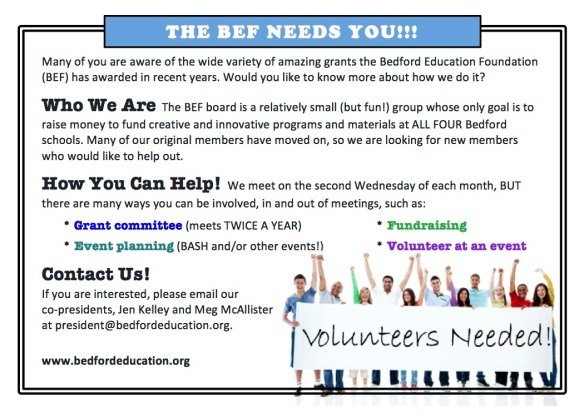 THE BEF NEEDS YOU v2